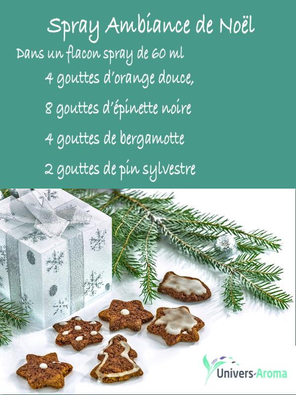 senteurs de Noël