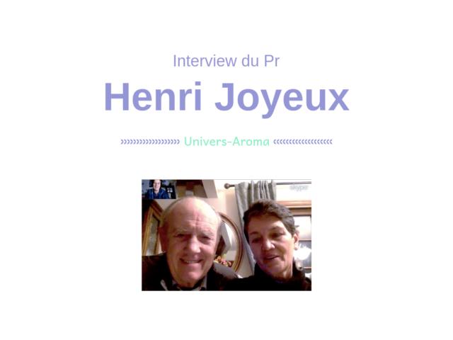 Interview avec le Pr Henri Joyeux