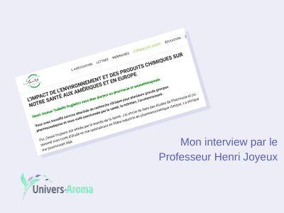 Interview de Isabelle Guglielmi par le Pr Henri Joyeux