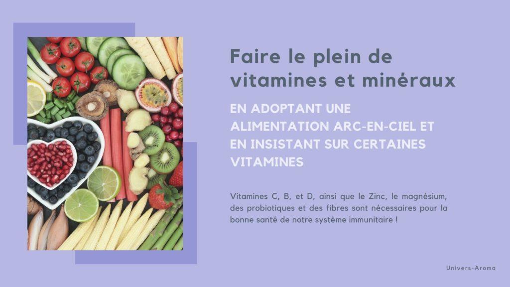 vitamines et immunité