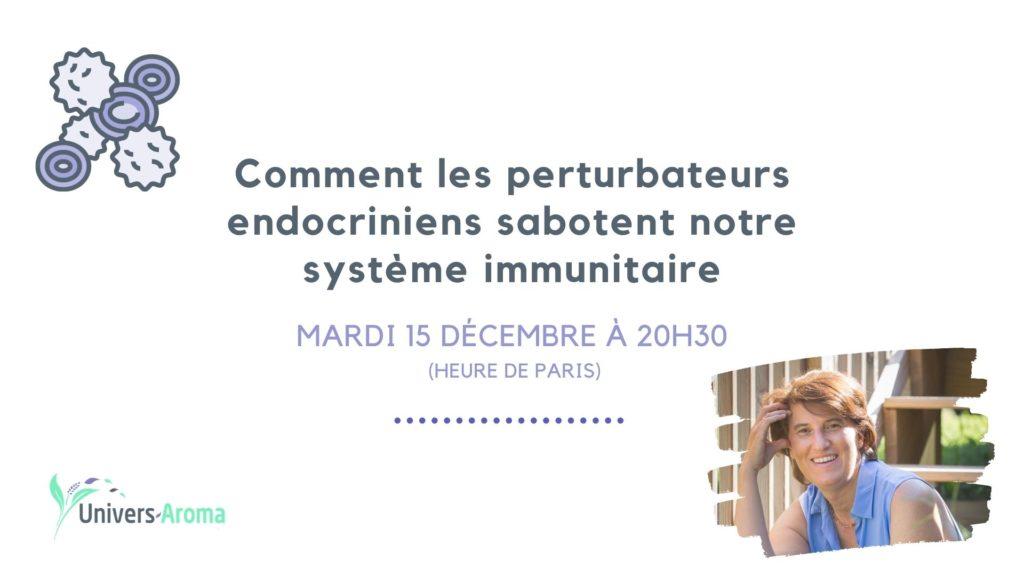 Immunité et perturbateurs endocriniens